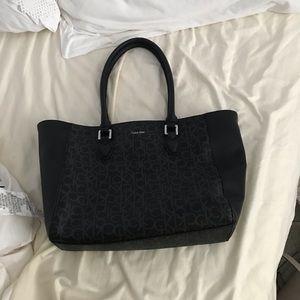 calvin klein tote purse